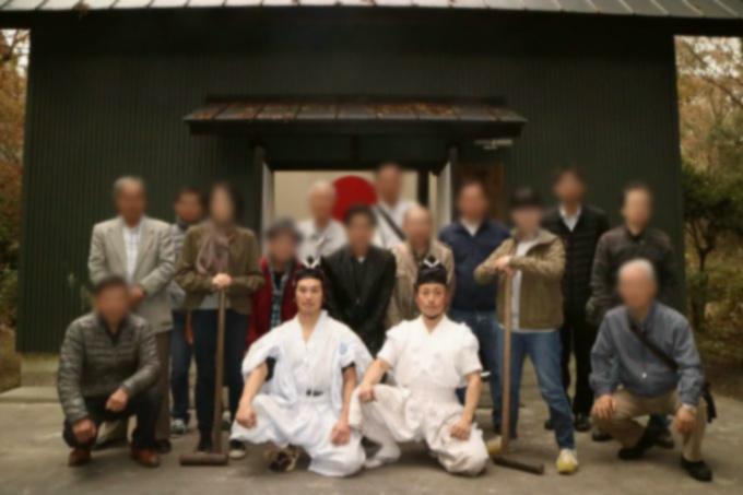 日本美術刀剣保存協会 静岡県支部富士日本刀鍛錬所の見学